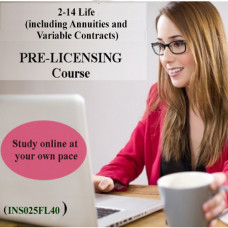 Florida - 2-14 Life (including Annuities and Variable Contracts) Pre-Licensing Course (INS025FL40)