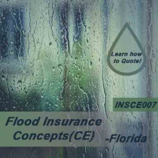 Florida: 3 hr All Licenses CE - Flood Insurance Concepts (INSCE007FL3)