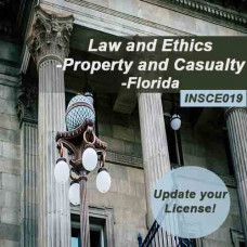 Florida - 5-hour Law and Ethics - Property and  Casualty (INSCE019FL5d)
